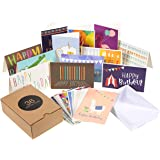Birthday Card - 36-Pack Birthday Cards Box Set, Happy Birthday Cards - Unique Assorted Designs Blank on the Inside Birthday C