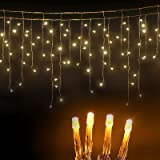 Christmas Solar String Lights Icicle Fairy Lighting 20M 500 LED Xmas Decoration Jingle Jollys Waterproof Outdoor Indoor Party
