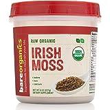 BareOrganics Irish Moss Superfood Powder, 8 Ounce