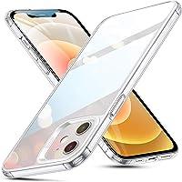ESR iPhone12 用 ケース iPhone12 Pro 用 ケース 6.1インチ 透明 9H背面 tpuバンパー…