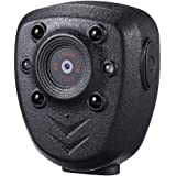 Wearable Body Mounted Camera,DEXILIO 1080P Mini Video Recorder with Night Vision, Small Camcorder for Home/Office/Law Enforce