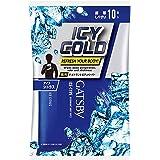 Gatsby Ice-Type Deodorant Body Wipes Cool Citrus, 10s