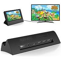 Switch ドック 最新システム対応 【HDMI変換/TVモード/テーブルモード】切り替え 直接にTV出力 充電スタン…