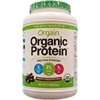 Orgain Organic Protein Plant-Based Powder, Creamy Chocolate…