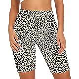 Hopgo Biker Shorts for Women High Waist Tie Dye Workout Shorts 7 inch Comfy Athletic Yoga Shorts