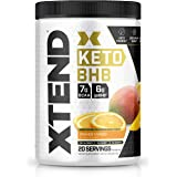 Xtend Keto | The Perfect Keto & BCAA Powder Orange Mango | Sugar Free Bhb Exogenous Ketones Supplement With Bhb Salts & elect