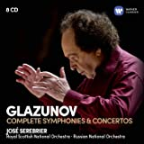 Glazunov: The Complete Symphonies & Concertos (8Cd)