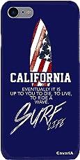 (キャバリア)CavariA 【TRY】【BS】 星条旗サーフボード(CALIFORNIA) プリント スマートフォンケース Xperia_Z4