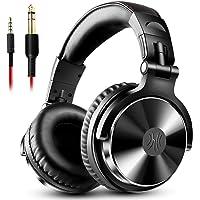 OneOdio Pro10 ヘッドホン 50mmドライバー 有線 マイク付き DJ モニターヘッドホン オーバーイヤー…
