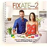 Beachbody Autumn Calabrese's FIXATE Vol. 2 Recipe Book, 21 Day Fix Recipes, Healthy Cookbook, Easy to Follow Meal Plan Progra