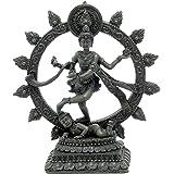 Bellaa 26973 Nataraja Dancing Statue Shiva Natraj Idol Figurine Divine Hindu God 6 Inch