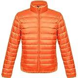 【ビーホワイ】メンズ ダウンジャケット ライトコート 超軽量 アウトドア 登山防風防寒コート 収納袋付き