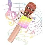 JMFinger Karaoke System - Portable, Rose Gold (JMF-MP-GD)