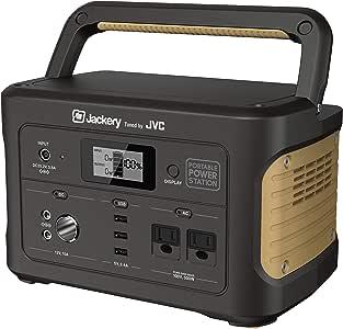 JVCケンウッド ポータブル電源 たっぷり大容量タイプ 容量626Wh AC・USB・シガーソケットポート搭載 BN-RB6-C
