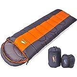 CuteeFox 寝袋 封筒型 軽量 シュラフ 防水 コンパクト【 選べる6色】 1.4kg アウトドア 登山 車中泊…