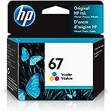 HP 67   Ink Cartridge   Tri-color   3YM55AN