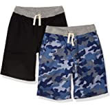 Amazon Essentials Boys Pull-On Woven Shorts