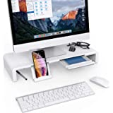 Foldable Monitor Stand Riser Klearlook Computer Monitor Stand with Adjustable Width Compatible with Tablet Printer Laptop PC