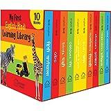 My First English Hindi Learning Library: Boxset of 10 Board Books For Kids (English and Hindi Edition)