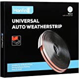 Universal Auto Weather Stripping 51/100 Inch Wide X 1/5 Inch Thick Self Adhesive Car Rubber Weather Draft Seal Strip Weathers