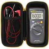 Khanka Hard Travel Case Replacement for Fluke 101/106/107 Basic Digital Multimeter Pocket Portable Meter Equipment Industrial