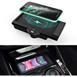 CarQiWireless Wireless Phone Charger Fast Charging for BMW X3 2018 2019 2020 BMW X4 2019 2020 Center Console 3 Coils Wireless