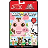 Melissa & Doug On The Go Reusable Stickers Farm