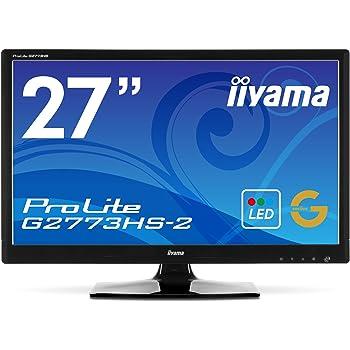 iiyama 144Hz入力対応 27型ワイド液晶ディスプレイ ProLite G2773HS-GB2