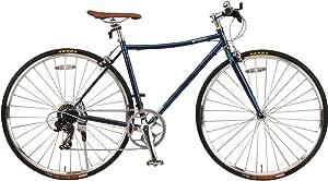 【Amazon.co.jp限定】JEFFERYS(ジェフリーズ) Morris(モーリス) 700x28C 軽量クロスバイク Traflgar Blue トラファルガーブルー シマノ7段変速/軽量フレーム DP780/キックスタンド 標準装備