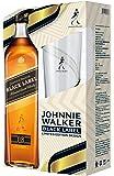 ジョニーウォーカー ブラックラベル12年 オリジナルハイボールグラス付 [ ウイスキー イギリス 700ml ] [ギフトBox入り]