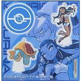 ポケモンセンターオリジナル アクリルスタンドキーホルダー Pokémon Trainers ルリナ&カジリガメ