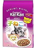 カルカン ドライ 12か月までの子ねこ用 かつおと野菜味ミルク粒入り 800g [キャットフード]