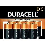 Duracell Coppertop Alkaline D Batteries - 8 Count Doublewide