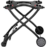 Weber BBQ Portable Cart Trolley Stand & H/Duty Wheels 1000 2000 Baby Q Series