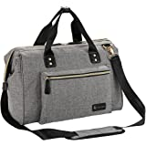 Diaper Bag, RUVALINO Large Diaper Tote Stylish for Mom and Dad