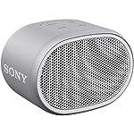 ソニー SONY ワイヤレスポータブルスピーカー SRS-XB01 W : 防水 Bluetooth スマホなしで操作可能 ストラップ付属 2018年モデル ホワイト