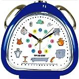 ティーズファクトリー 目覚まし時計 おむすびクロック トム&ジェリー チラシ ファニーアート 6×13.7×13.5cm TJ-5520295CH