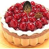 洋菓子店カサミンゴー 最高級洋菓子 ヴァルトベーレ木苺チョコレートケーキ (誕生日プレートセット, 15cm) 必ず日時指定便をお選びください。