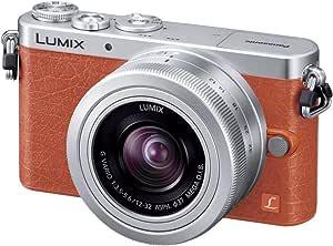 パナソニック デジタル一眼カメラ ルミックス GM1 レンズキット 標準ズームレンズ付属 オレンジ DMC-GM1K-D