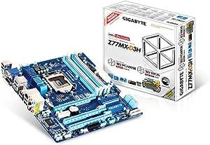 GIGABYTE intel Z77 LGA1155 Micro ATX LucidLogix Virtu MVP対応 GA-Z77MX-D3H