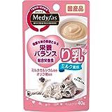 メディファス キャットフード ウェットり乳 ミルク風味 40gx12 (まとめ買い)