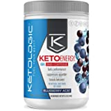 KetoLogic BHB Exogenous Ketones with Caffeine   Supports Keto Diet, Weight Management, Energy & Focus   Ketone Powder Pre-Wor