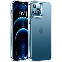 TORRAS 半クリア iPhone 12 用 ケース iPhone 12 Pro 用 ケース 2021年新型 マット感…