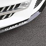 YIEKO Front Bumper Lip Universal Auto Parts Car carbon Fiber Lip Side Skirt Spoiler Anti Scratch Protector Body Kit Trim Wate