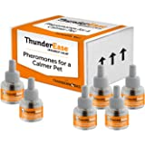 ThunderEase Cat Calming Pheromone Diffuser Refill | Powered by FELIWAY | Reduce Scratching, Urine Spraying, Marking, and Anxi