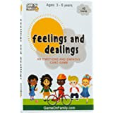Feelings and Dealings: An Emotions and Empathy Card Game | Award-Winning | Therapy Games for Kids | Social and Emotional Skil