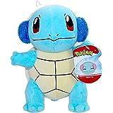 "Pokemon Squirtle Holiday Seasonal Plush, 8"" Pokemon Plush Toy, Includes Santa Hat Accessory- Super Soft, Authentic Details -"