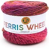 Lion Brand Yarn 217-611 Ferris Wheel Yarn, Pink Marmalade