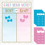Creative Converting 336683 Gender Reveal Balloons Cast Your Votes Game