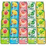 【Amazon.co.jp限定】Slat(すらっと) オリジナル5種飲み比べセット [ チューハイ 350ml×20本 ]